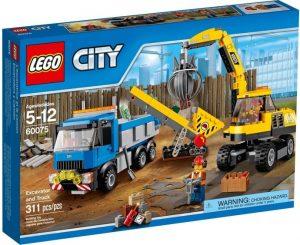 לגו - דחפור ומשאית - 60075
