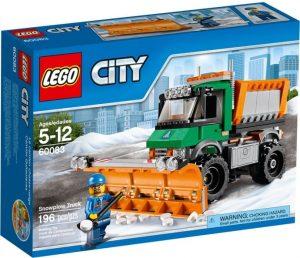לגו סיטי - משאית מפלסת שלג - 60083