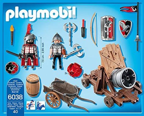 פליימוביל אבירים- תותח אבירי הנץ עם אביר - 6038