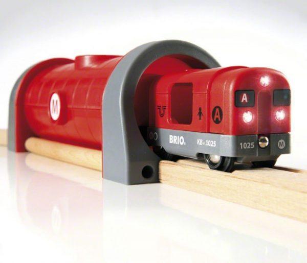 סט רכבת מטרו עם אור וקול 33513 BRIO