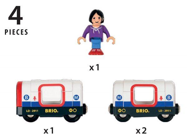 בריו רכבת מטרו BRIO 33867
