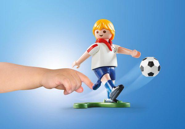 פליימוביל מזוודת כדורגל Playmobil 5654