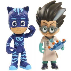 כוח פי ג'יי - זוג דמויות ילד חתול ורומיאו PJ MASKS