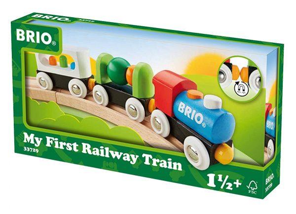 בריו הרכבת הראשונה שלי - צבעונית BRIO 33729