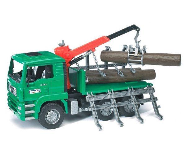 משאית עצים מוביל מאן - ברודר 02769