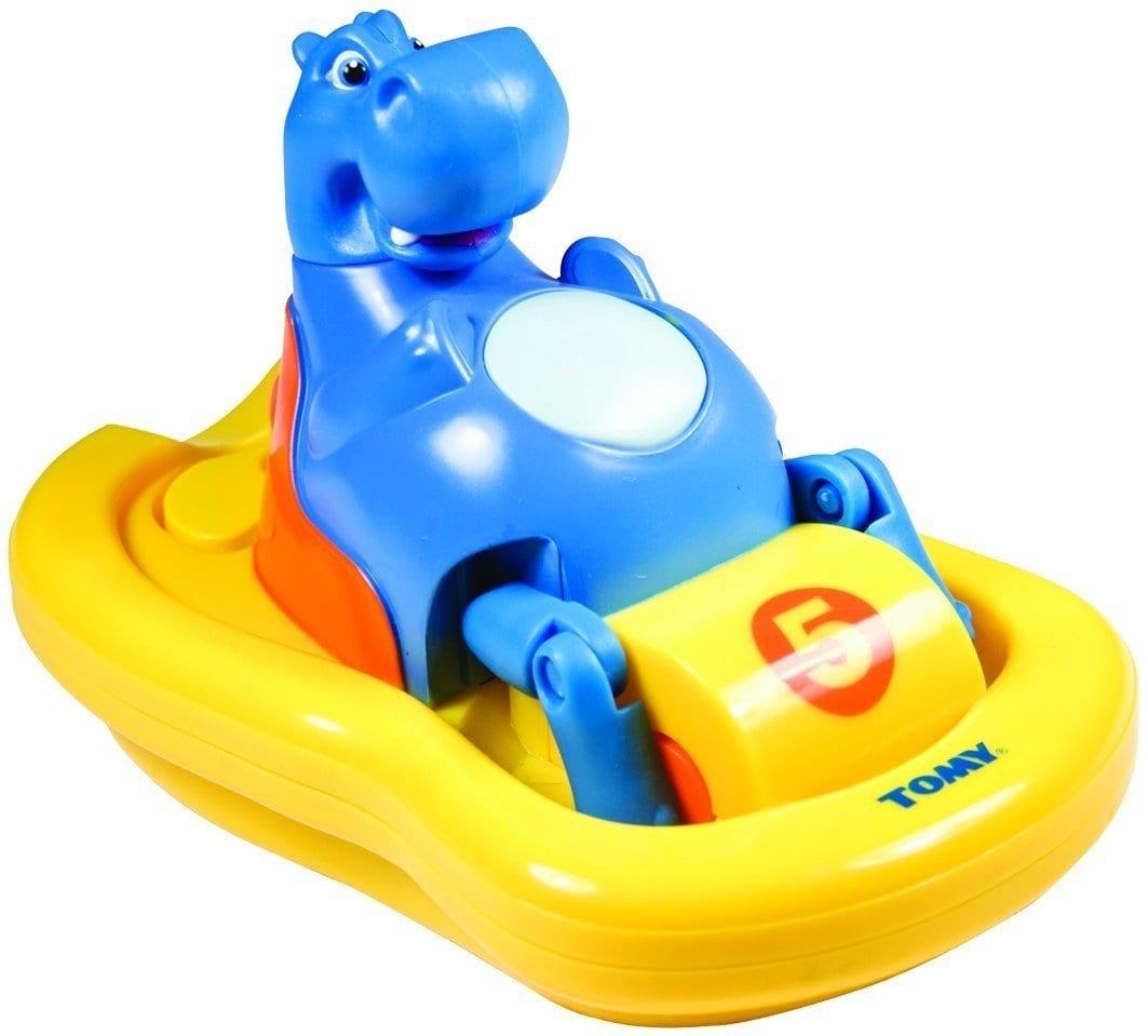 7766היפופוטם מפדל בסירת פדלים – צעצוע אמבטיה – טומי