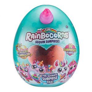 ביצת ריינבוקורן Rainbocorns - בובת חד קרן קסומה בתוך ביצה