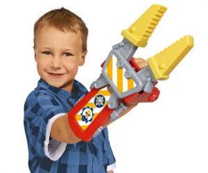 סמי הבאי - Fireman Sam מספריים לחילוץ מתלבשות על היד. לוחצים והצוותות נסגרות. מתאים לילדים מגילאי 3 ומעלה