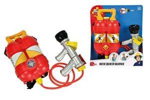 סמי הכבאי - רובה מים עם מיכל Fireman Sam
