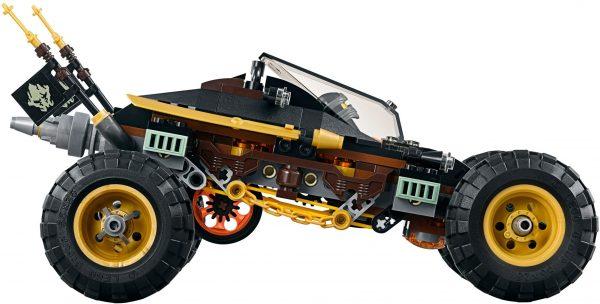 לגו נינג'גו - מכונית מרוץ שחורה 70589