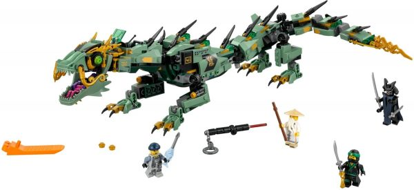 לגו נינג'גו - רובוט דרקון ירוק 70612