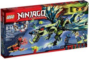 לגו נינג'גו - תקיפת הדרקון מורו 70736 LEGO Ninjago