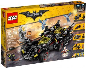 רכבי גיבורים 4 - לגו באטמן 70917
