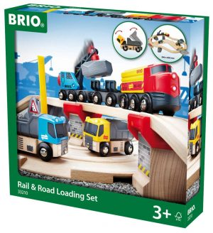 בריו מסלול משאיות ורכבות למטען 33210 BRIO