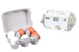 תבנית ביצים מעץ