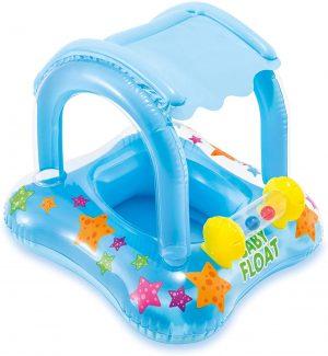 אינטקס הליכון מים לתינוק עם צלון