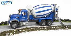 משאית מק מערבל בטון - ברודר 02814 BRUDER