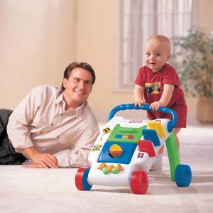 הליכון רב פעילות לתינוק - עידוד הליכה - ליטל טייקס