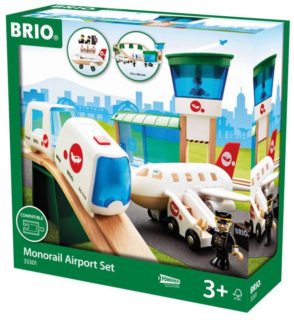 בריו נמל תעופה עם מטוס 33301 BRIO