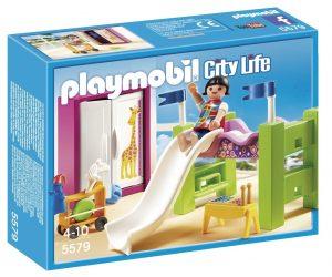פליימוביל החיים בעיר - חדר ילדים עם מיטת קומותיים ומגלשה 5579