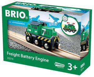 בריו קטר ירוק על סוללות BRIO 33214