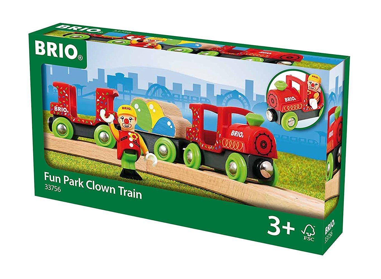 13583בריו רכבת ליצנים בפארק שעשועים BRIO 33756