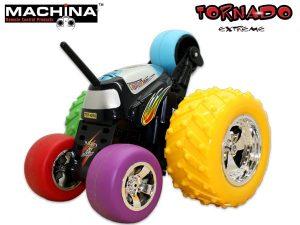 טורנדו מכונית פעלולים עם שלט - Tornado Extreme
