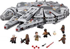 לגו מלחמת הכוכבים - מילניום פאלקון 75105 LEGO Star Wars EPISODE 7