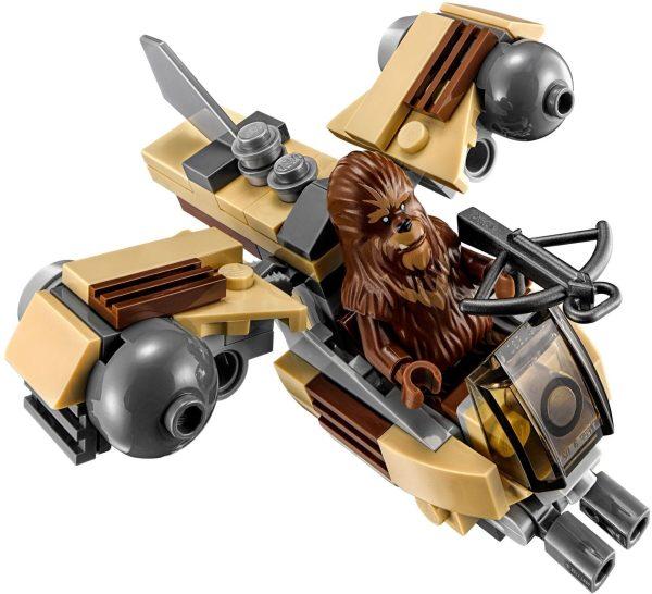 לגו מלחמת הכוכבים - חללית רובי ווקי 75129 LEGO Star Wars