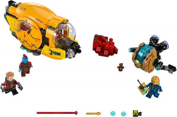 גלקסיה פאס 1 - לגו גיבורי על 76080 LEGO