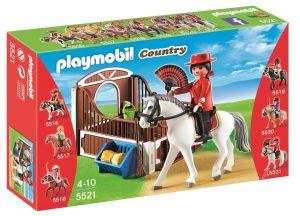 פליימוביל בכפר- רוכבת הפלמנקו עם סוס - 5521