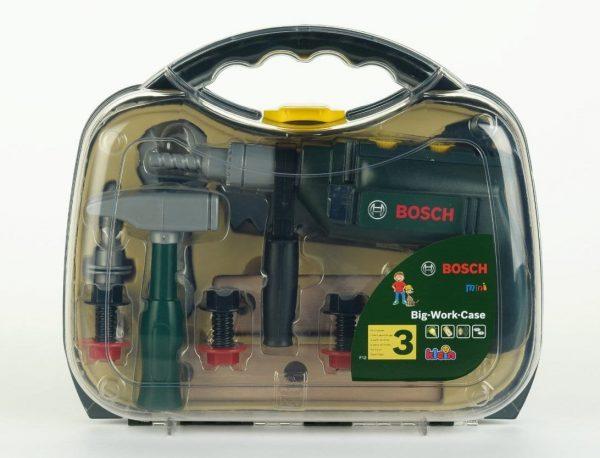 מזוודת כלי עבודה עם מקדחה - בוש
