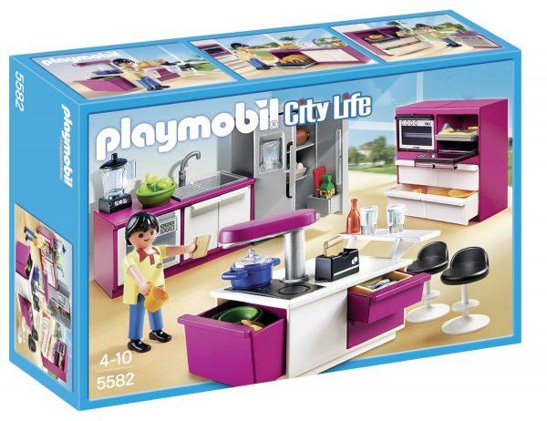פליימוביל - מטבח מודרני עם 101 אביזרי משחק - 5582