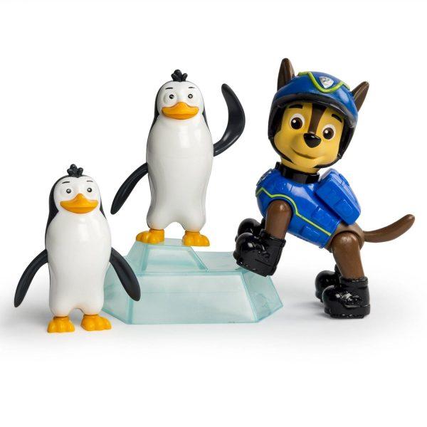 מפרץ ההרפתקאות - סט הצלה צ'ייס והפינגווינים