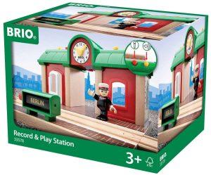 בריו תחנת רכבת אור קול והקלטה BRIO 33578