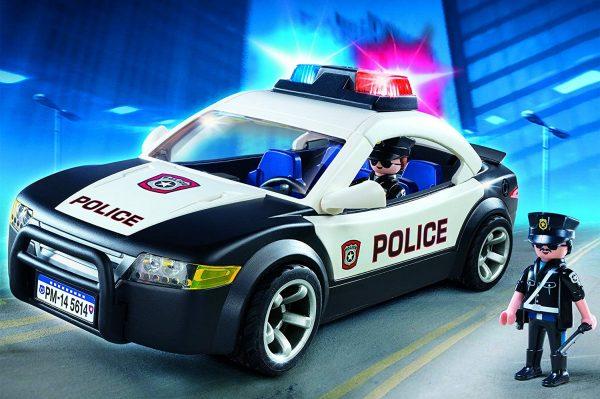 ניידת משטרה עם אורות - פליימוביל 5673 Playmobil