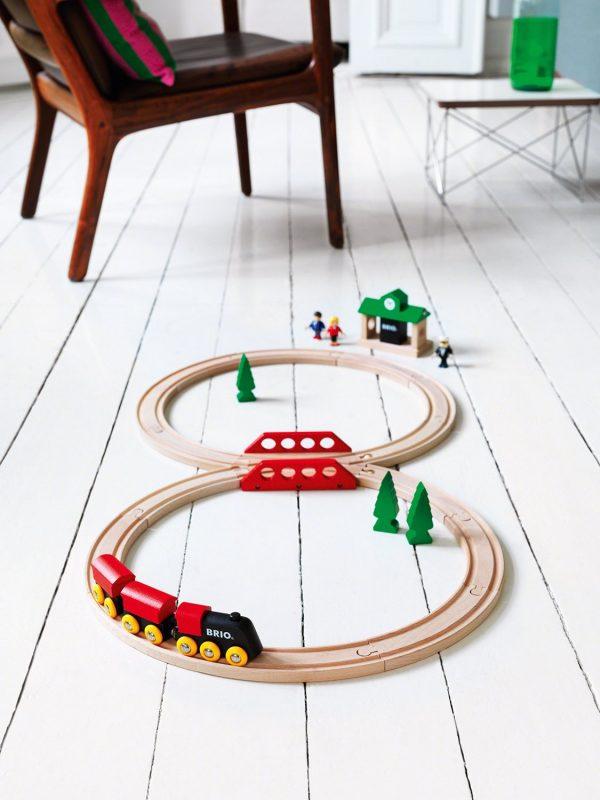 מסלול רכבת קלאסי עץ 33028 BRIO