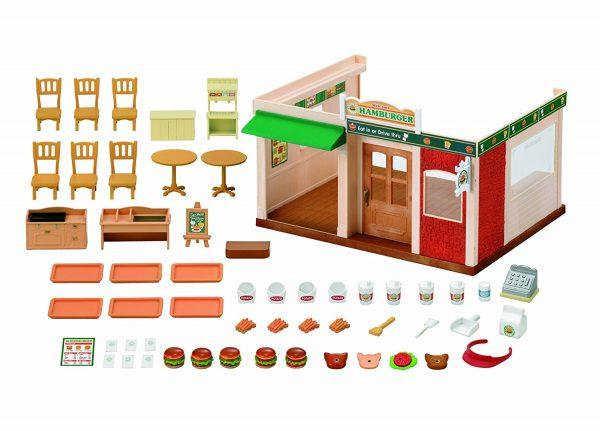 משפחת סילבניאן - מסעדת המבורגר 1860 sylvanian family