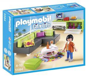 פליימוביל החיים בעיר - סלון חדר אורחים - 5584