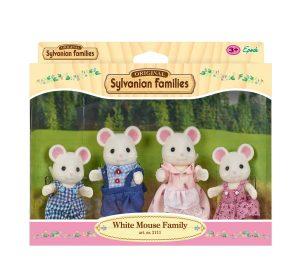 משפחת סילבניאן - משפחת העכברים הלבנים 3111
