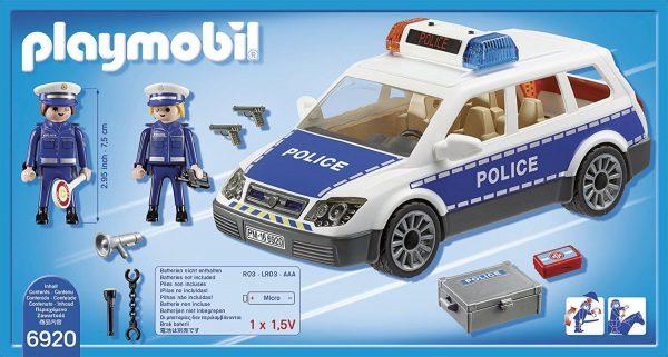 רכב משטרה עם אורות וקול - פליימוביל 6920