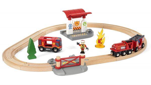 בריו סט הצלה רכבת כיבוי אש BRIO 33815