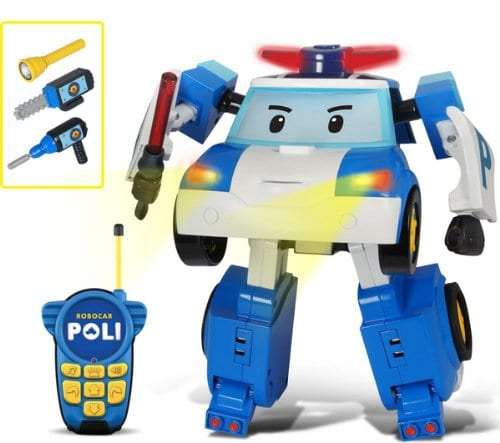 רובו אוטו פולי - רובוטריק פולי גדול עם שלט