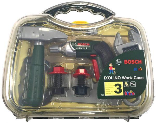 מזוודת כלי עבודה עם מברגה מיני  - בוש  BOSCH