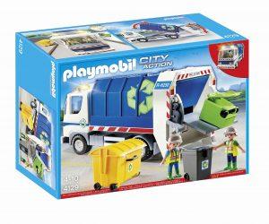 משאית זבל עם אורות  - פליימוביל 4129