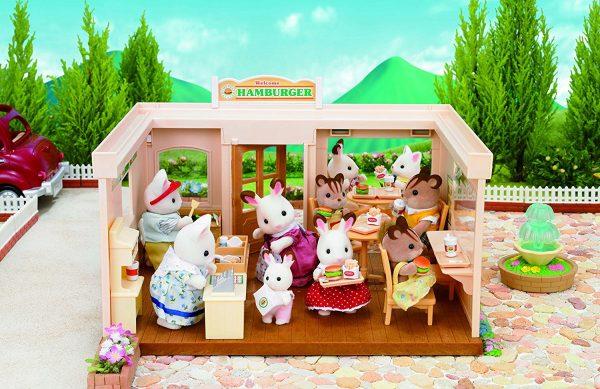 משפחת סילבניאן - מסעדת המבורגר 1860