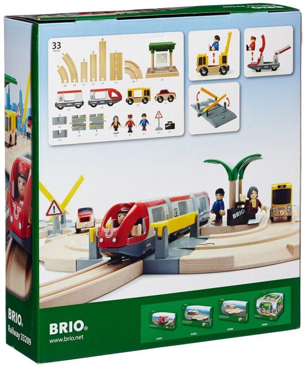 סט מסלול רכבת תיירים 33209 BRIO