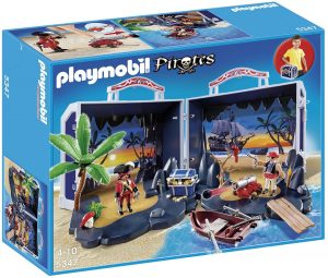 פליימוביל - מזוודת משחק פיראטים - 5347