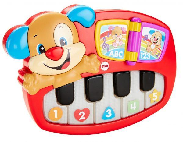 הפסנתר של הכלבלב הנבון דובר עברית - פישר פרייס Fisher Price