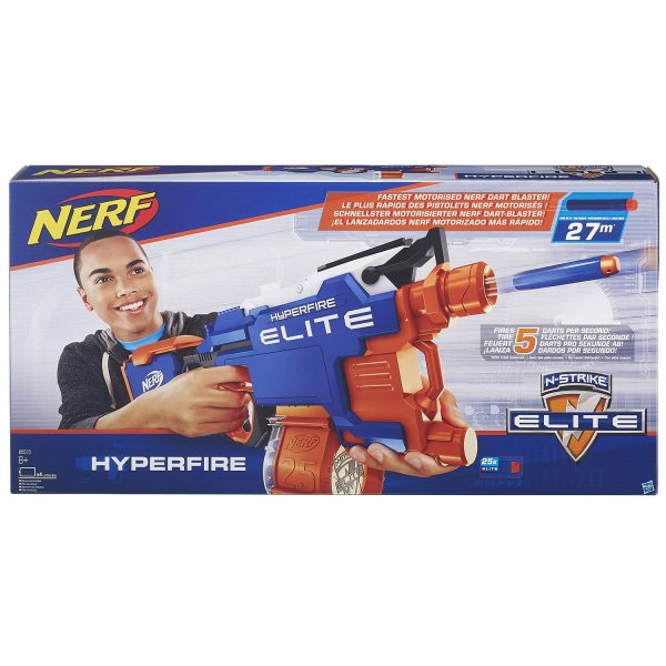 נרף הייפר פייר NERF N-STRIKE ELITE HYPERFIRE